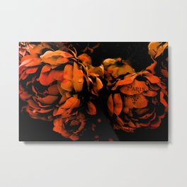 Autumn Fall Nature Prints - Surreal Flower Prints Home Decor Metal Print