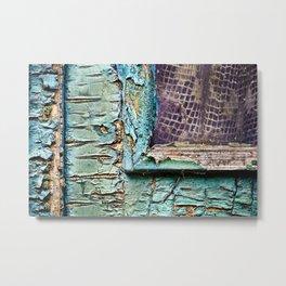 Geometric Urban vintage abstract Metal Print
