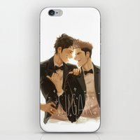 snk iPhone & iPod Skins featuring sugar by JohannaTheMad