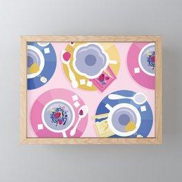 Pastel Tea Party Framed Mini Art Print