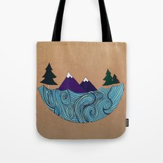 Pacific NorthFresh Tote Bag
