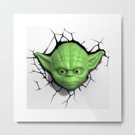 Yoda 01 Metal Print
