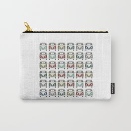 happy camper – A colourful montage pattern of vintage camper vans Carry-All Pouch