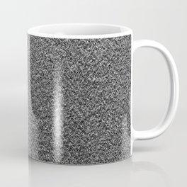 Gray Fleecy Material Texture Coffee Mug