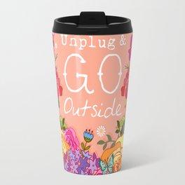 Unplug & Go Outside Travel Mug