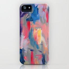 No. 60 Multicolour Modern Art Abstract iPhone Case