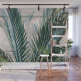 Botanical Garden | Fine art photography print | Shades of green and blue Wall Mural