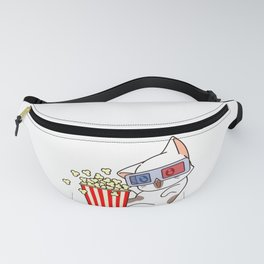 Popcorn And Cat Fanny Pack