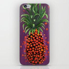 Shimmy Shimmy Pineapple iPhone Skin