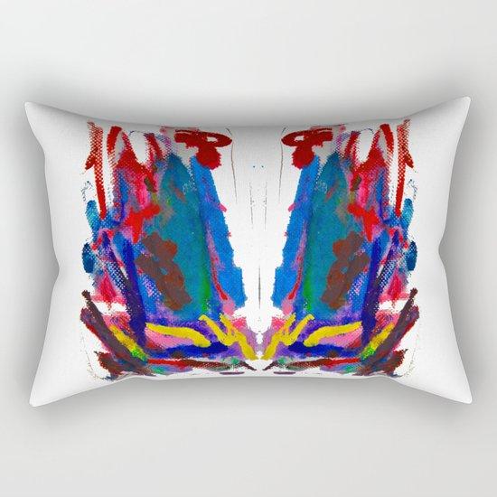 Doodles Paper by Elisavet Rectangular Pillow