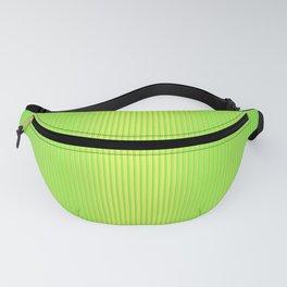 Lemon Citrus Bright Stripes Tropical Green Fanny Pack