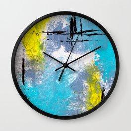 Beach Days Wall Clock
