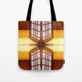 Pattern of Elevator interior Tote Bag