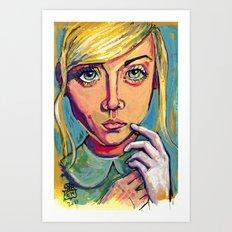 Alice 2 Art Print