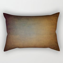Dark aged linen texture Rectangular Pillow
