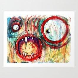 fried Art Print