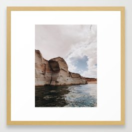 Lake Powell Pt. 5 Framed Art Print