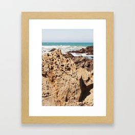 Moonstone Beach Framed Art Print