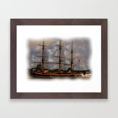 the Tall Ships Framed Art Print