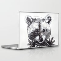 racoon Laptop & iPad Skins featuring Racoon by Faustine BLESSON
