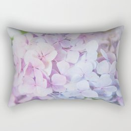 Bloomin' Fabulous Hydrangeas Rectangular Pillow