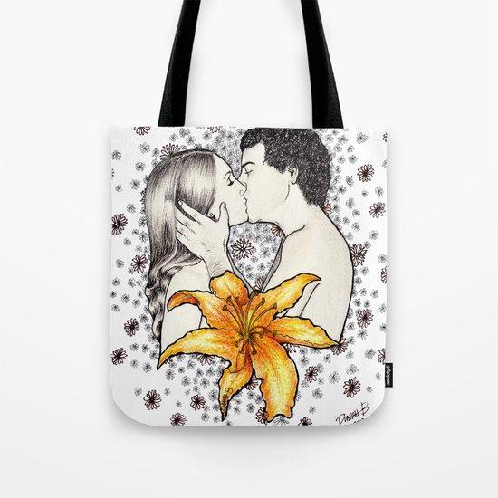 Love is like a Flower... Tote Bag