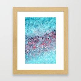 frozen III Framed Art Print