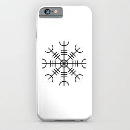 Aegishjalmur - Helm Of Awe Nordic Viking Symbol iPhone Case