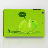 lime iPad Cases featuring Lime by Lime