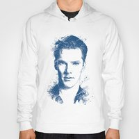 benedict cumberbatch Hoodies featuring Benedict Cumberbatch by Chadlonius