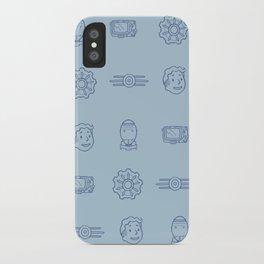Fallout- Vault Dweller pattern iPhone Case