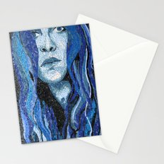 Of Water - Monochromatic Mosaic Stationery Cards