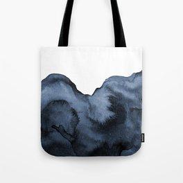 Watercolor Splash in Blue Tote Bag