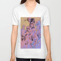 the thing V-neck T-shirts featuring thing by nakedoats