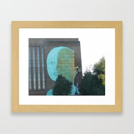 head Framed Art Print
