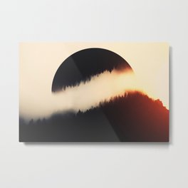 Forest Evenings Metal Print