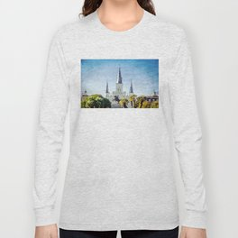 Jackson Square New Orleans Long Sleeve T-shirt