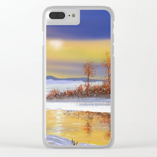 Winter 3 Clear iPhone Case