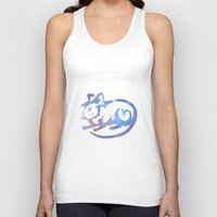 zodiac Tank Tops featuring Rat zodiac  by Julie Luke