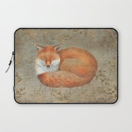 Red fox among thorns Laptop Sleeve
