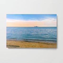 Great Yarmouth Beach Metal Print
