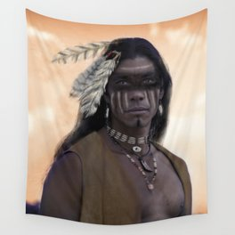 Proud Warrior Wall Tapestry