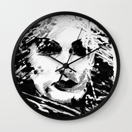 Lily Munster Wall Clock