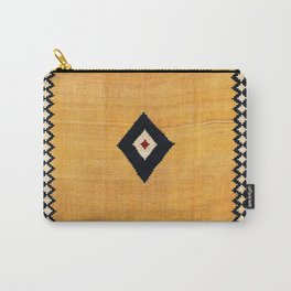 Qashqa'i Fars Southwest Persian Kilim Print Carry-All Pouch
