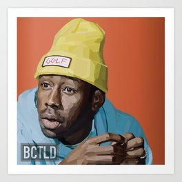 TYLER THE CREATOR OFWGKTA Art Print