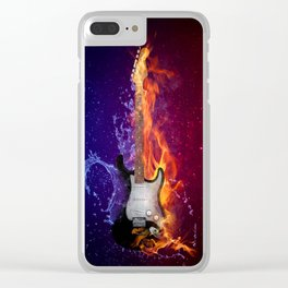 Bassguitar Clear iPhone Case