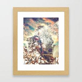 Snow, Sunshine and Sky Framed Art Print