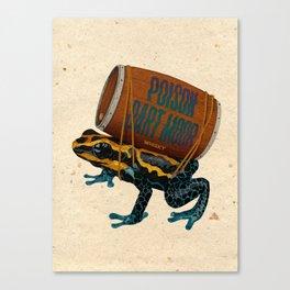 Poison Dart Moore Canvas Print