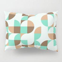 Mint and Chocolate Fresh Pattern Pillow Sham