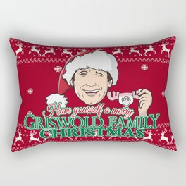 Have yourself a merry Griswold Family christmas Rectangular Pillow